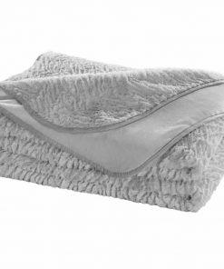Γούνινη Κουβέρτα Υπέρδιπλη Ultrasoft NORDIC SILVER (220x240) της Guy Laroche