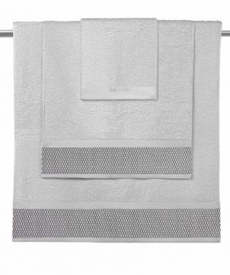 Σετ Πετσέτες Μπάνιου (3τμχ) JANE της Guy Laroche - SILVER CHARCOAL