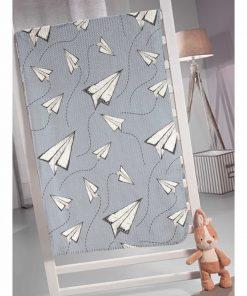 Παιδική Fleece Κουβέρτα Μονή FLY της Saint Clair (160x220)