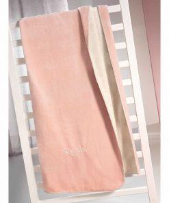 Παιδική Fleece Κουβέρτα Μονή 2 όψεων TRESOR της Saint Clair (160x220) PINKY