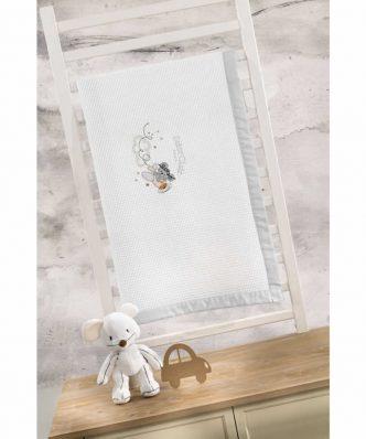 Βρεφική (bebe) Πικέ Κουβέρτα Κούνιας MAX της Saint Clair (110x150)