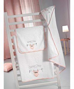 Σετ Βρεφικές (bebe) Πετσέτες (2τμχ) AUDREY της Saint Clair