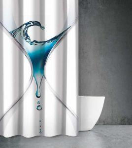 Μπλε χρώμα στο Μπάνιο