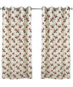 Κουρτίνα με κρίκους (140x260) Curtain Line 2101 της Das Home
