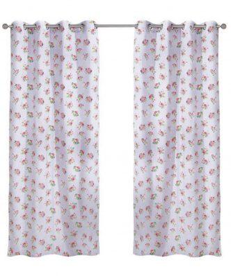 Κουρτίνα με κρίκους (140x260) Curtain Line 2103 της Das Home