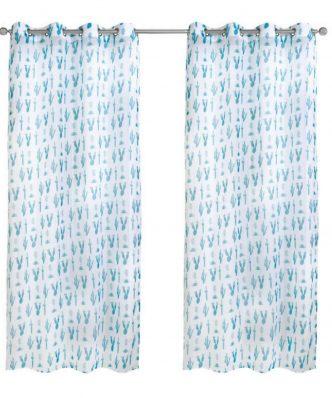 Κουρτίνα με κρίκους (140x260) Curtain Line 2111 της Das Home
