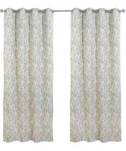 Κουρτίνα με κρίκους (140x260) Curtain Line 2114 της Das Home