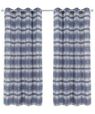 Κουρτίνα με κρίκους (140x260) Curtain Line 2117 της Das Home