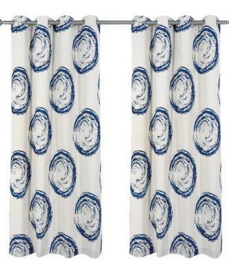 Κουρτίνα με κρίκους (140x280) Curtain Line 2129 της Das Home