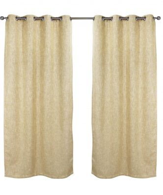 Κουρτίνα με κρίκους (140x280) Curtain Line 2131 της Das Home