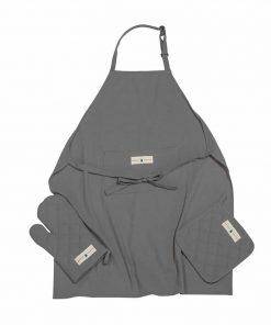 Σετ Κουζίνας (3 τμχ.) Essential 2650 της POLO CLUB ΓΚΡΙ