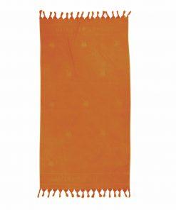 2818 ΠΟΡΤΟΚΑΛΙ Πετσέτα Θαλάσσης - Παρεό (90x170) της POLO CLUB