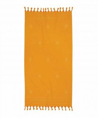Πετσέτα-Παρεό Θαλάσσης Essential 2820 της POLO CLUB (90x170) ΩΧΡΑ