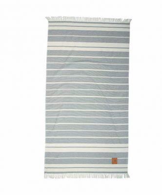 Πετσέτα Θαλάσσης Essential 2869 της POLO CLUB (90x170) ΓΚΡΙ