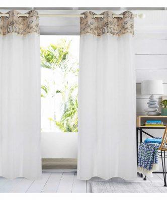 Κουρτίνα με κρίκους (140x260) Curtain Line 2163 της Das Home