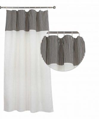 Κουρτίνα με θηλιές (140x260) Curtain Line 2165 της Das Home