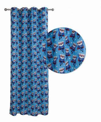 Παιδική Κουρτίνα με κρίκους (140x260) Curtain Line 2138 της Das Home
