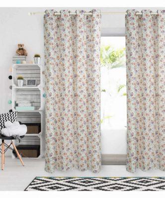 Παιδική Κουρτίνα με κρίκους (140x260) Curtain Line 2139 της Das Home