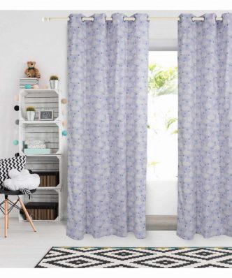 Παιδική Κουρτίνα με κρίκους (140x260) Curtain Line 2141 της Das Home