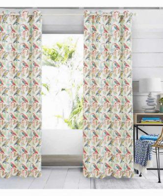 Κουρτίνα με κρίκους (140x280) Curtain Line 2105 της Das Home