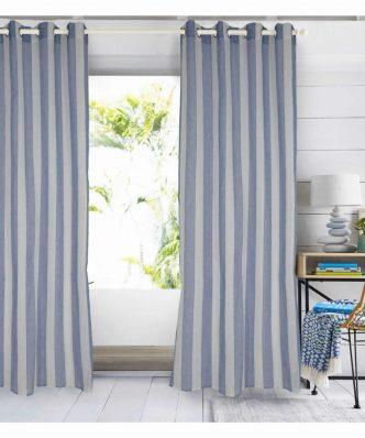 Κουρτίνα με κρίκους (140x280) Curtain Line 2154 της Das Home
