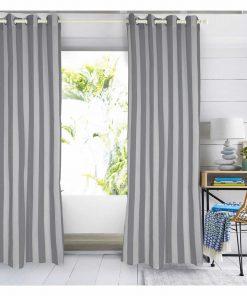 Κουρτίνα με κρίκους (140x280) Curtain Line 2155 της Das Home