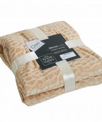 Διακοσμητική Κουβέρτα Fleece Καναπέ (150x170) Blanket Line 046 της Das Home