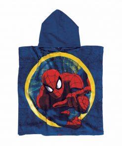 Παιδικό Πόντσο Θαλάσσης Spiderman 5824 της Das Home/DISNEY (60x120) ΜΠΛΕ/ΚΟΚΚΙΝΟ
