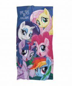 Παιδική Πετσέτα Θαλάσσης My Little Pony 5816 της Das Home/DISNEY (70x140) ΡΟΖ/ΛΙΛΑ