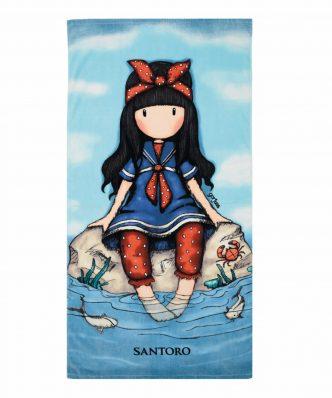 Παιδική Πετσέτα Θαλάσσης SANTORO 5807 της Das Home (75x150) ΜΠΛΕ