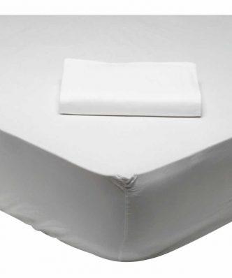 Κατωσέντονο Ημίδιπλο Best 1001 της Das Home (120x200) ΛΕΥΚΟ (με λάστιχο 120x200+35)