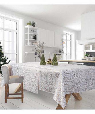 Χριστουγεννιάτικο Τραπεζομάντηλο (140x180) Christmas Kitchen Line 575 της Das Home