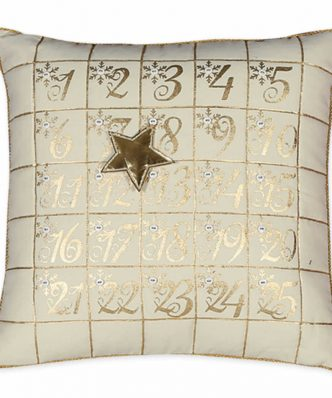 Χριστουγεννιάτικο Διακοσμητικό Μαξιλάρι (45x45) LITTLE STAR της NEF-NEF