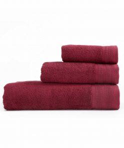 Πετσέτα Μπάνιου LIFE της NEF-NEF (70x140) 1127-BORDO