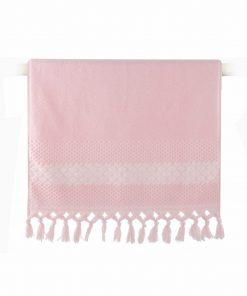 Πετσέτα Προσώπου ELVIA της NEF-NEF (50x90) PINK