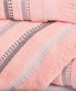 Σετ Πετσέτες Μπάνιου (3τμχ) LIMIT της NEF-NEF - PINK
