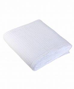 Κουβέρτα Πικέ Υπέρδιπλη NEW GOLF της NEF-NEF (220x240) 200-WHITE