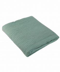 Κουβέρτα Πικέ Υπέρδιπλη NEW GOLF της NEF-NEF (220x240) 1066-DARK MINT