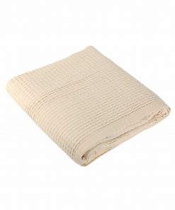 Κουβέρτα Πικέ Υπέρδιπλη NEW GOLF της NEF-NEF (220x240) 939-ECRU