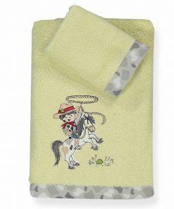 Σετ Παιδικές Πετσέτες (2τμχ) WESTERN της NEF-NEF