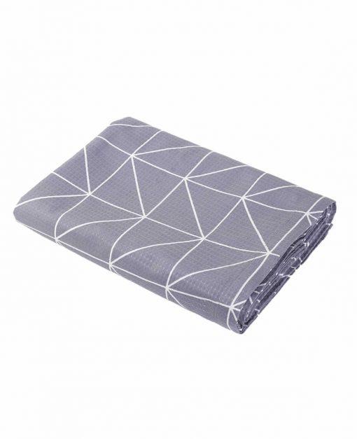 Κουβέρτα Πικέ Υπέρδιπλη MARSAL της NEF-NEF (230x240) GREY