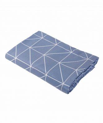 Κουβέρτα Πικέ Μονή MARSAL της NEF-NEF (160x240) DENIM
