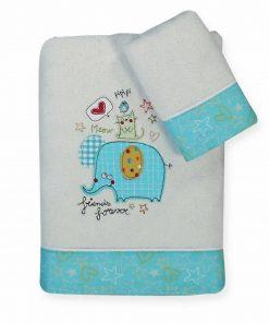 Σετ Βρεφικές (bebe) Πετσέτες (2τμχ) 3 FRIENDS της NEF-NEF