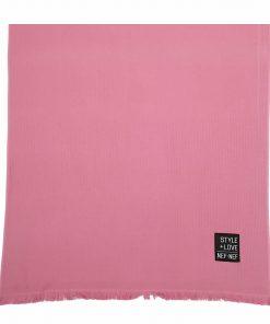 Πικέ Πετσέτα Θαλάσσης - Παρεό LIFE STYLE της NEF-NEF (90x170) ROSE