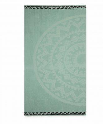 Βελουτέ Πετσέτα Θαλάσσης ABEY της NEF-NEF (80x160) GREEN