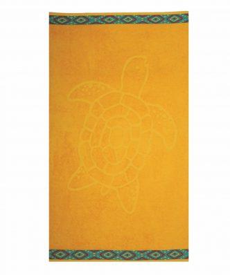 Πετσέτα Θαλάσσης TURTLE της NEF-NEF (70x120) YELLOW