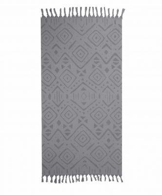 Πετσέτα Θαλάσσης - Παρεό TRUE της NEF-NEF (90x170) GREY