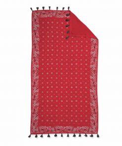 Πετσέτα Θαλάσσης - Παρεό BANDANA της NEF-NEF (90x170) RED