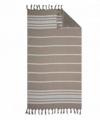 Πετσέτα Θαλάσσης - Παρεό REFLECT της NEF-NEF (90x170) BROWN