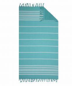 Πετσέτα Θαλάσσης - Παρεό REFLECT της NEF-NEF (90x170) PETROL